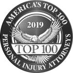 America's Top 100 Personal Injury Attorneys 2019® Recipient Award